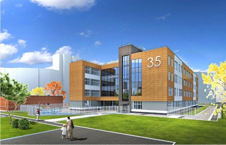 Новое здание 35 гимназии
