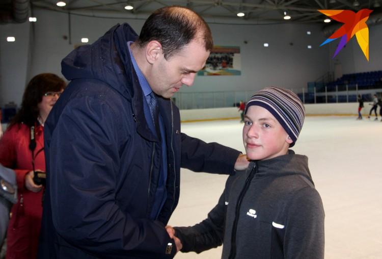 Матвея за поступок поблагодарил Министр спорта Тверской области Андрей Решетов