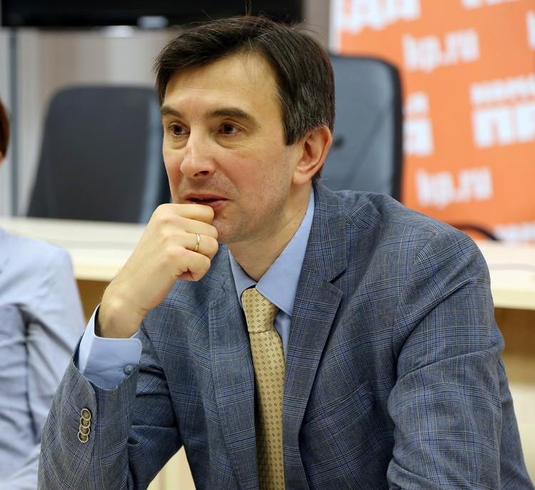 Сергей Ануфриев, основатель и директор Петербургского медицинского форума.