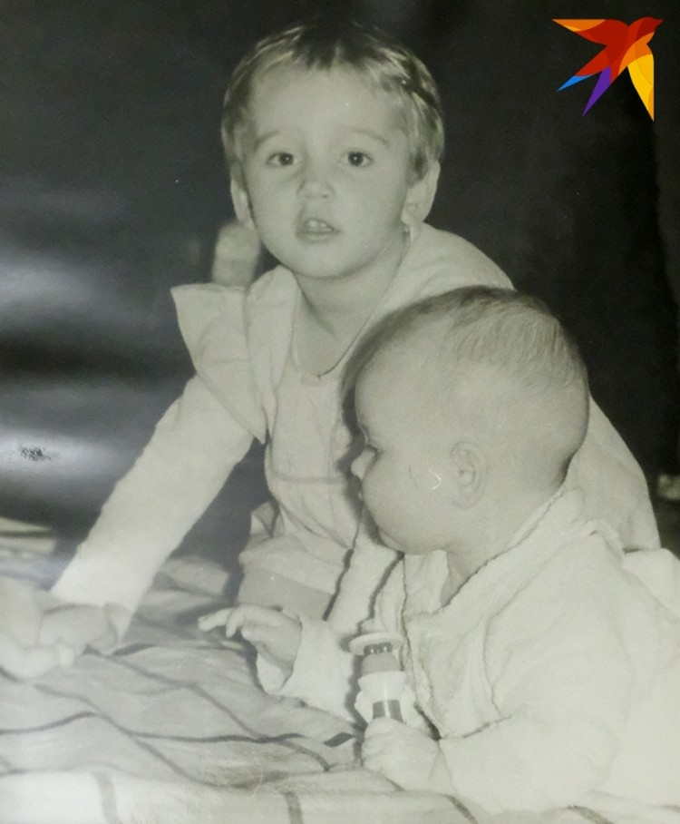 Оля с детства была подвижной девочкой