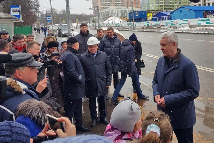 С жителями старых домов 3 февраля встретился мэр Москвы Сергей Собянин