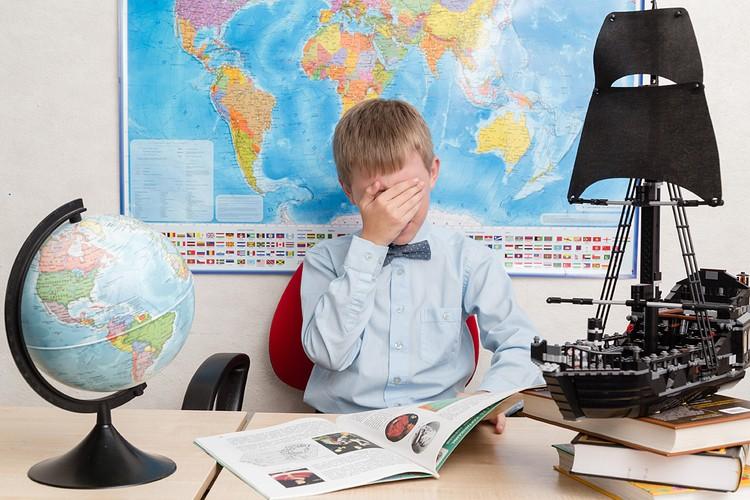 Российские ученики оказались на первом месте по уровню стресса от учебы