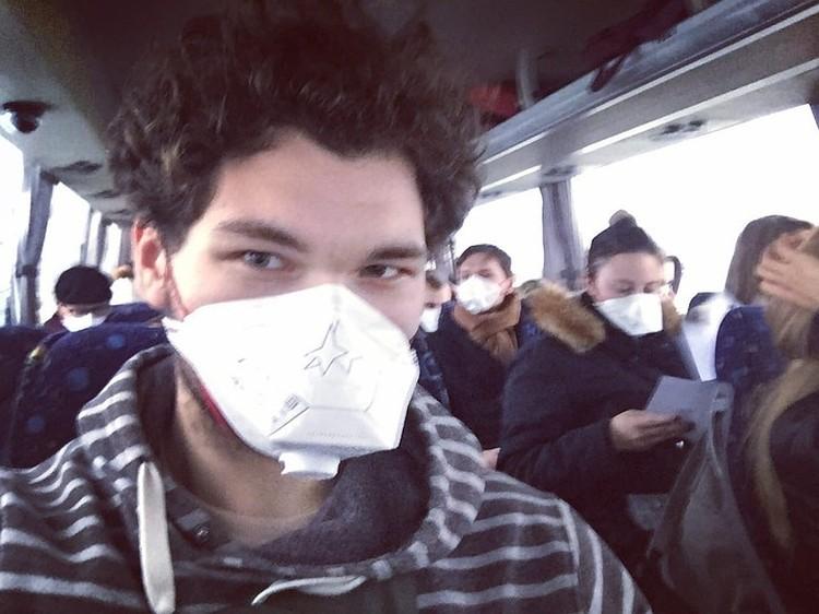 Эвакуация из Уханя Фото: соцсети