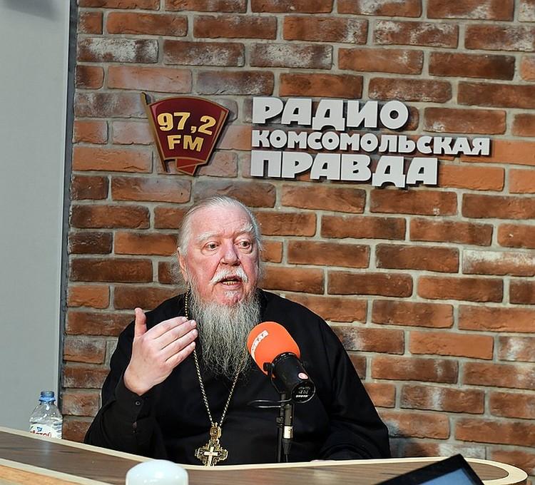 Отец Димитрий Смирнов в большом интервью kp.ru объяснил вызвавшие скандал слова