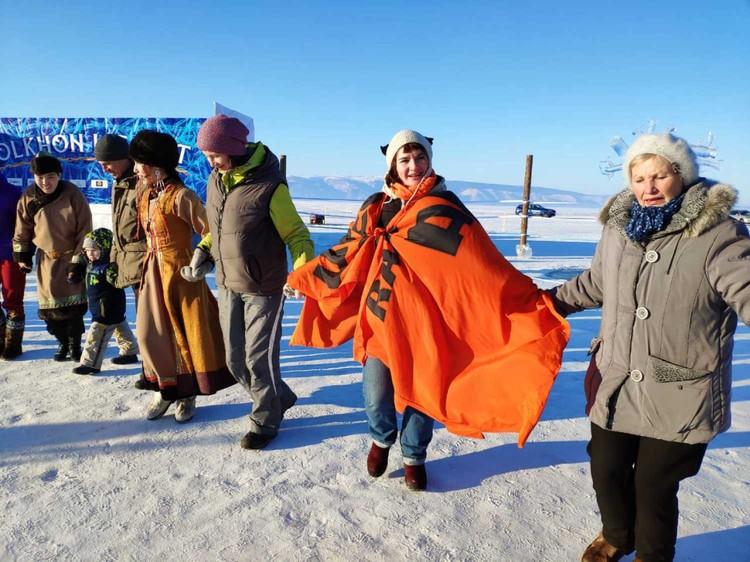 Вот таким был Olkhon ice fest, который принес море позитива гостям озера Байкал!