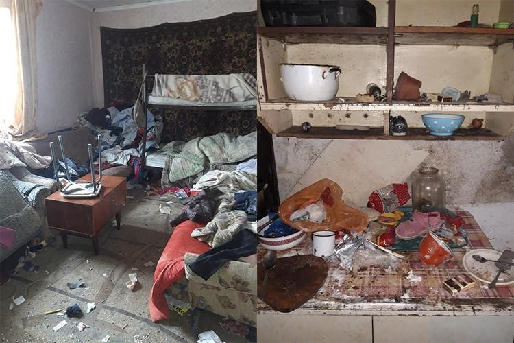Кажется, дело было не только в разбросанных вещах. Фото: Управление по делам детей и защиты их прав администрации Симферопольского района