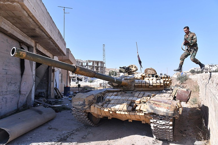 Сирийская армия пытается зачистить Идлиб от боевиков