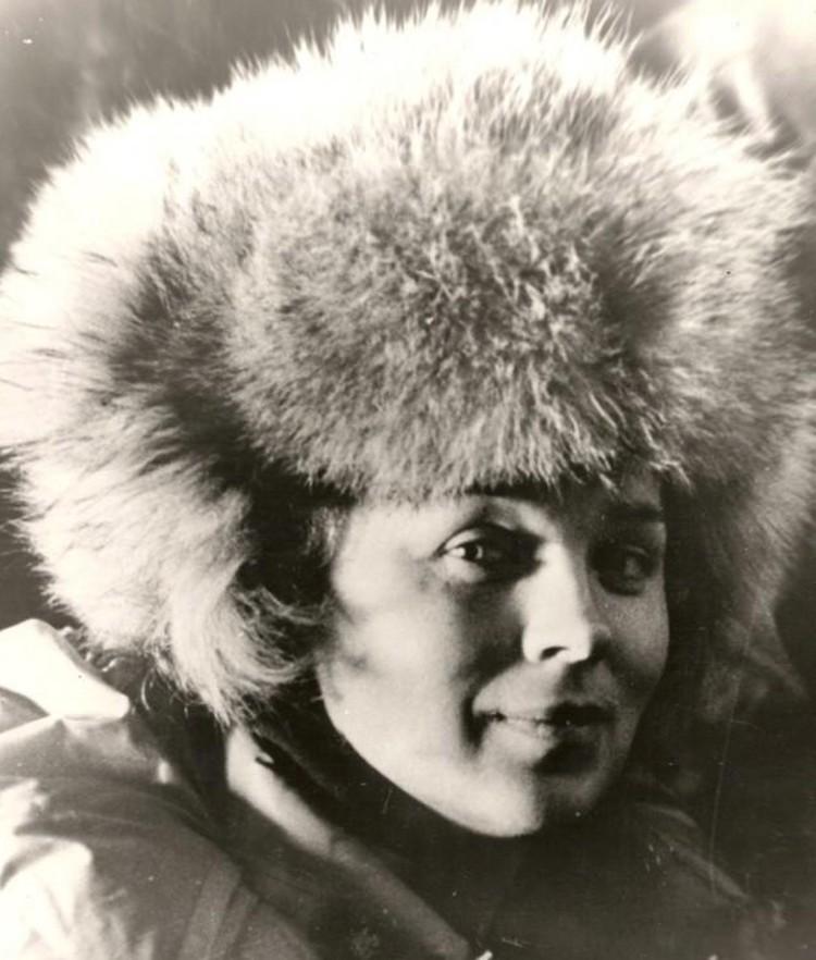 Валентина Кузнецова в первых походах. Фото В. Волкова
