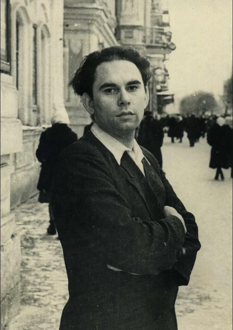 Василий Песков, корреспондент газеты «Молодой коммунар», 1950-е годы. Фото: Личный архив В. М. Пескова
