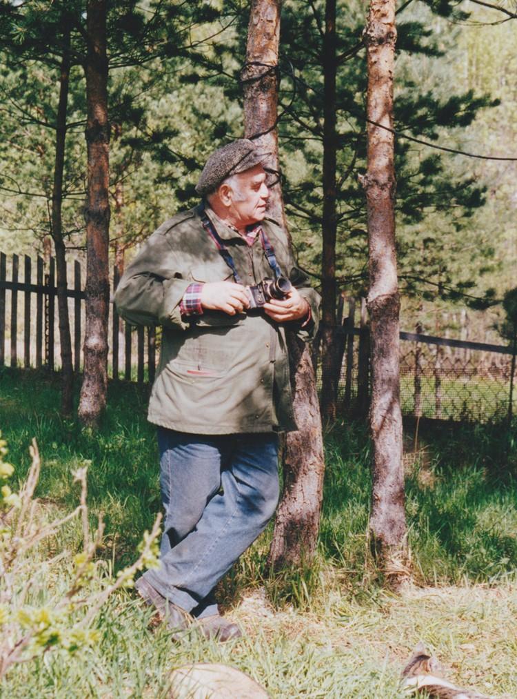 Василий Песков у Пажетнова. 1997 год