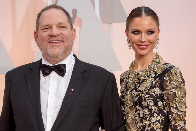 "Харви Вайнштейн и Джорджина Чапман на церемонии вручения ""Оскаров"", 2015 год."