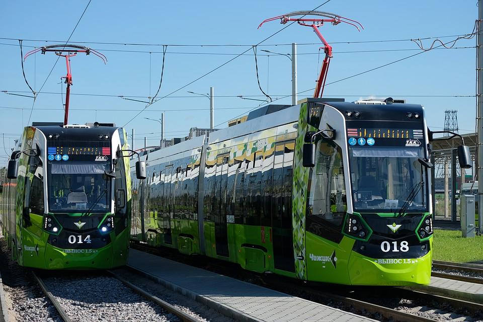 На сети «Чижик» используются современная система управления, поэтому обычным трамваям придется дооборудоваться. Фото: Артем КИЛЬКИН