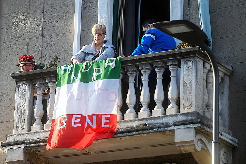Пик зараженных, по прогнозам врачей, в Италии будет через две недели, потом пойдет на спад Фото: REUTERS