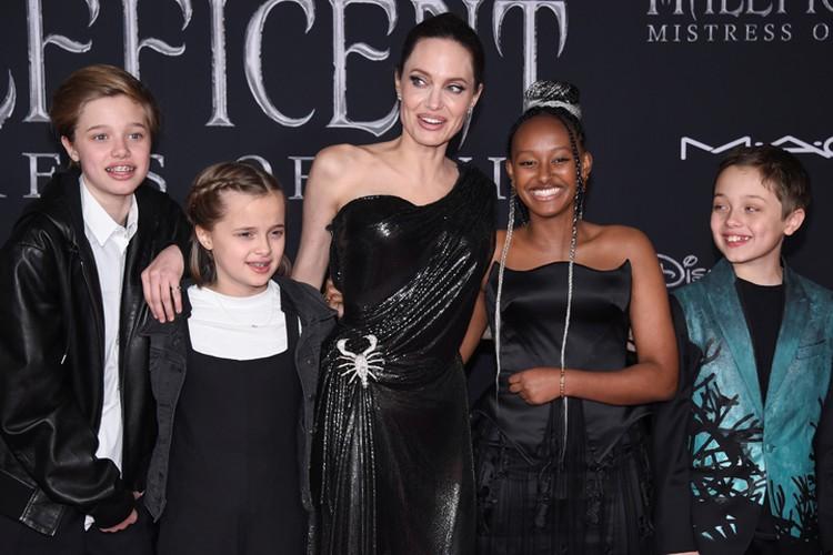 Все дети Анджелины Джоли никогда не учились в школе.