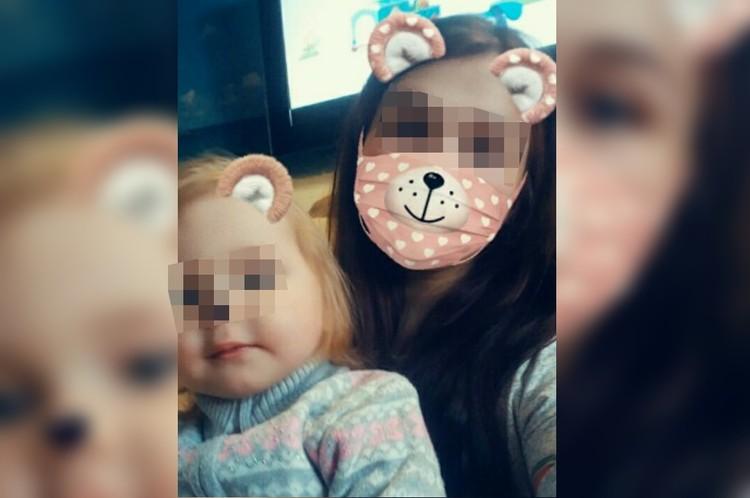 Маму и дочку доставили на вертолете в Екатеринбург. Фото: СОЦСЕТИ