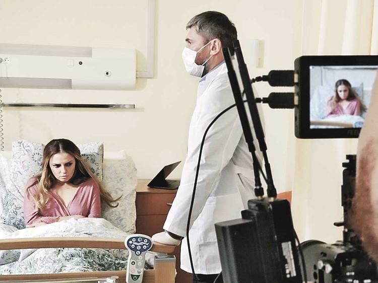 Кадр из фильма про Юлию Началову «Утренняя звезда». Фото: Первый канал.