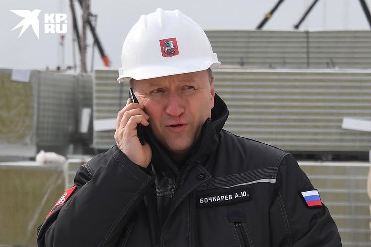 Заместитель мэра Москвы по вопросам градостроительной политики и строительства Андрей Бочкарев.