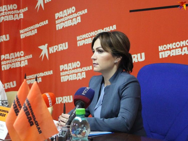 Министр экономического развития Саратовской области Юлия Швакова