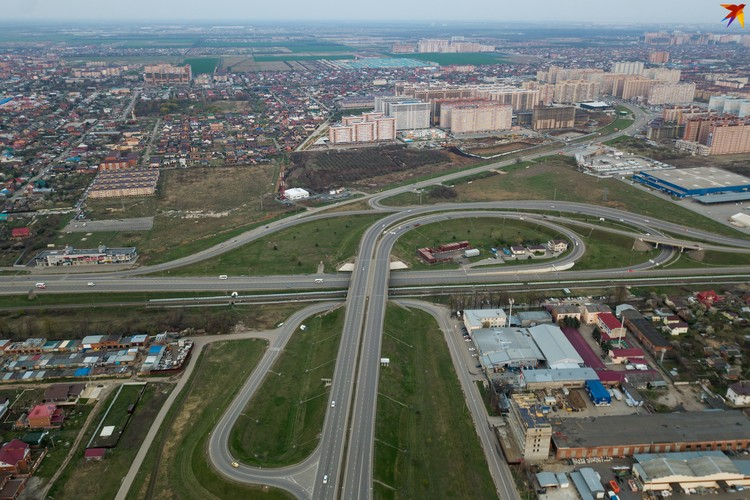 Развязка на Ростовском шоссе