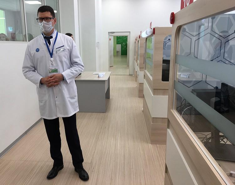 Руководитель центра телемедицины Алексей Тяжельников.
