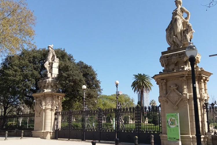 Закрыт самый большой парк Барселоны. Фото: Оксана Василенко