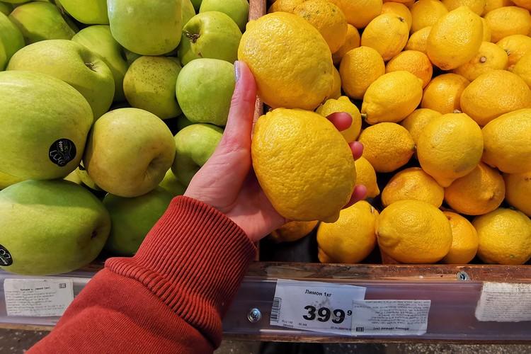 Цены на лимоны удивили всех