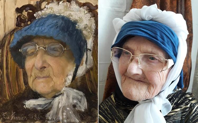 "Ева Бонниер, ""Старая бабушка"". Фото: Елена Боровская"