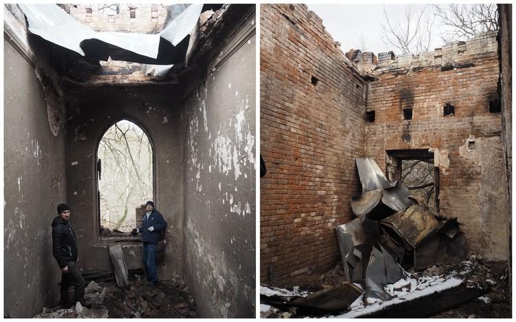Активисты запечатлели последствия пожаров и заявили в полицию об уничтожении объектов культурного наследия. Фото: рязанское отделение ВООПиК