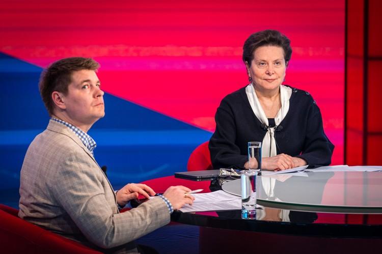 В рамках конференции глава региона ответила на вопросы югорчан. Фото: Правительство Югры