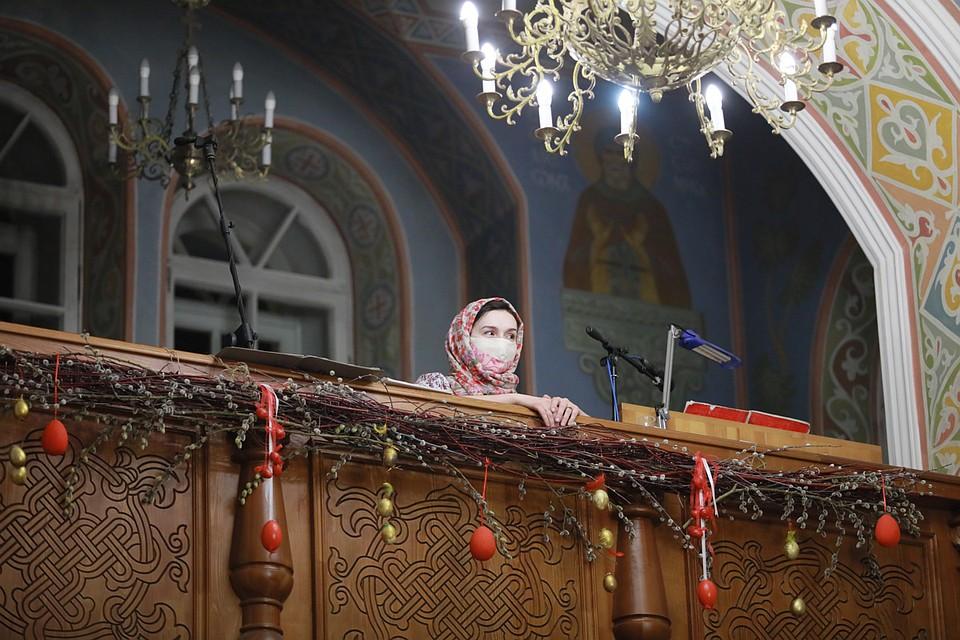 Празднование Пасхи в Красноярске. Фото: Мария ЛЕНЦ