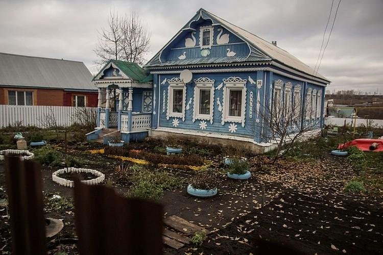 Вот в таком домике жила семья Ульяновых