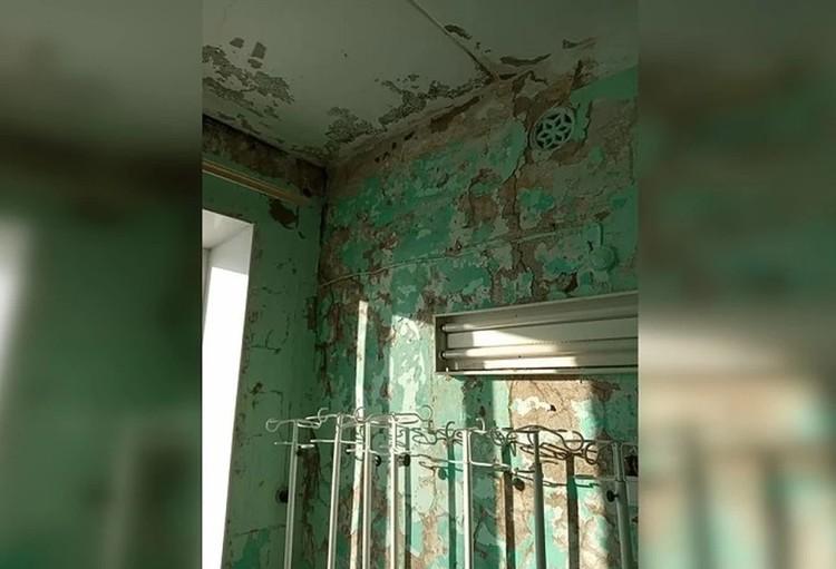 """Вот так больница выглядела изнутри в марте этого года. Фото: """"Гражданский патруль"""""""