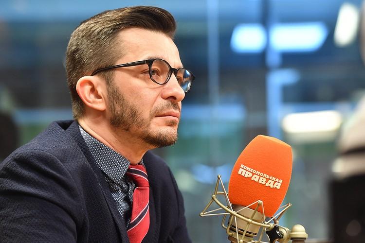 """Психотерапевт Андрей Курпатов на Радио """"Комсомольская правда""""."""