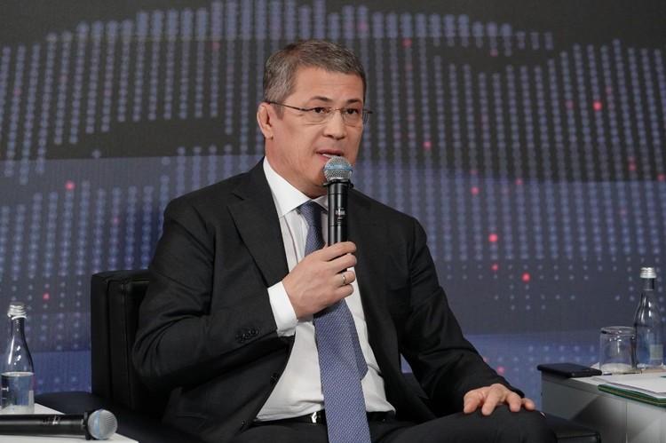 Радий Хабиров, глава Республики Башкортостан