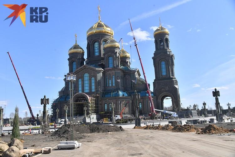 О начале строительства Главного храма Вооруженных сил России Минобороны объявило в сентябре 2018 года