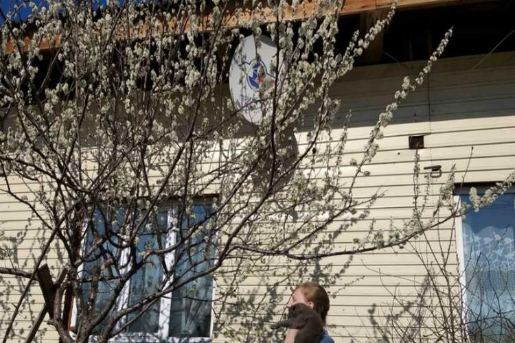 Так дом Веры Куклиной выглядел до пожара. Фото: предоставлено Верой Куклиной