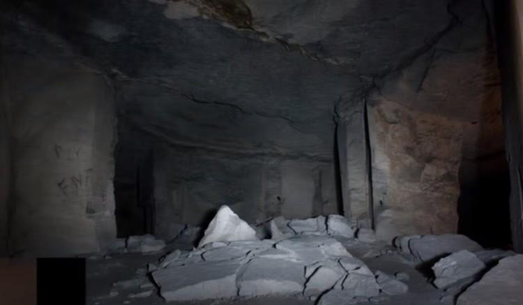 Багеровские каменоломни. 2011 год. Скриншот видео