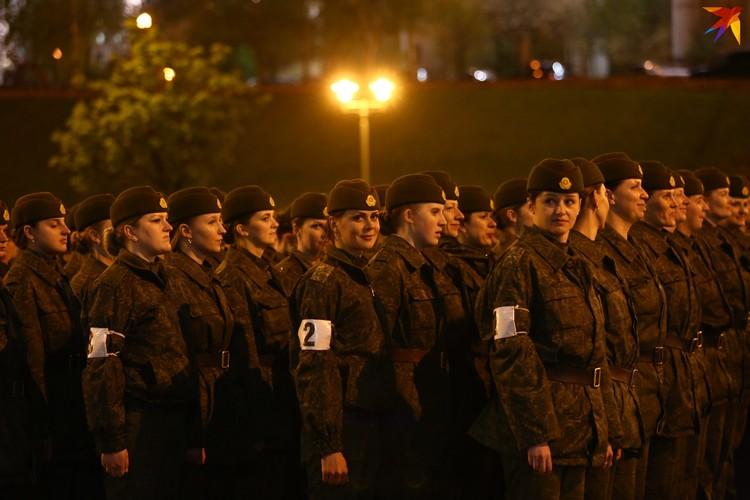 Генеральная репетиция парада к 75-летию Победы в Минске.