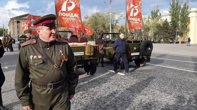 Андрей Бочаров: Сегодня я стану водителем у Александра Ильича Родимцева.