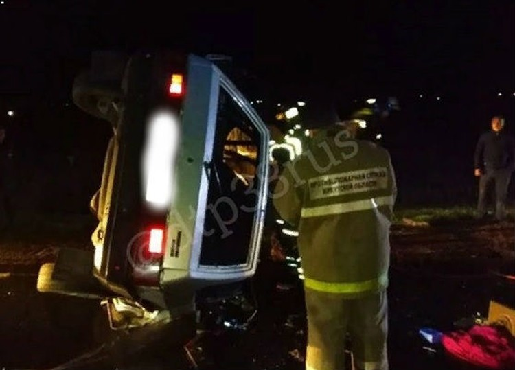 """Также медицинская помощь потребовалась 44-летнему водителю «десятки». Фото: """"ДТП 38RUS"""""""