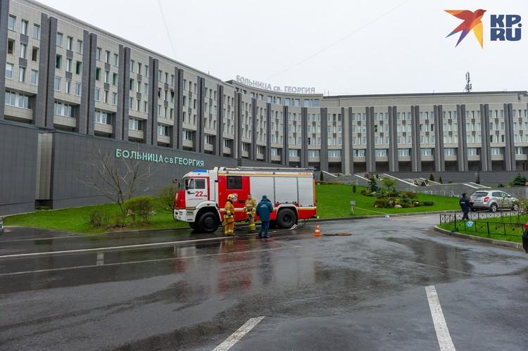В больнице погибли пять человек