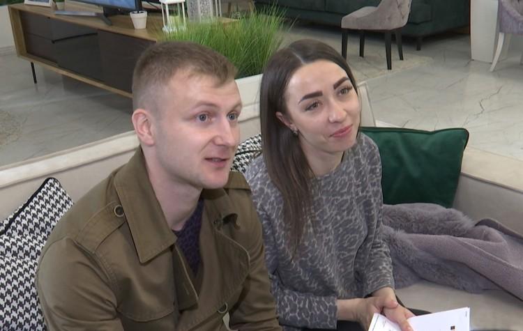 Виктор и Юлия Гордины.