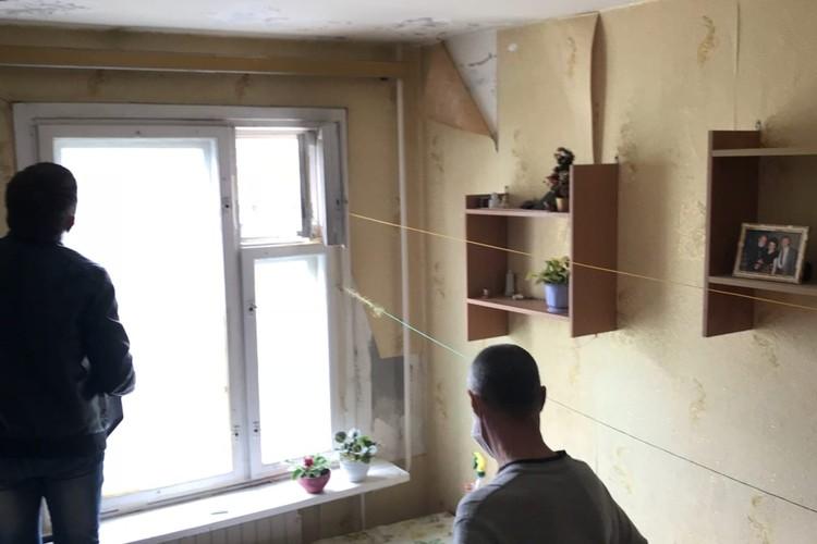 Квартира в ужасном состоянии
