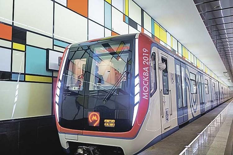 В метро вагоны новой модификации «Москвы» появились в прошлом году. Фото: Предоставлено Московским метрополитеном.