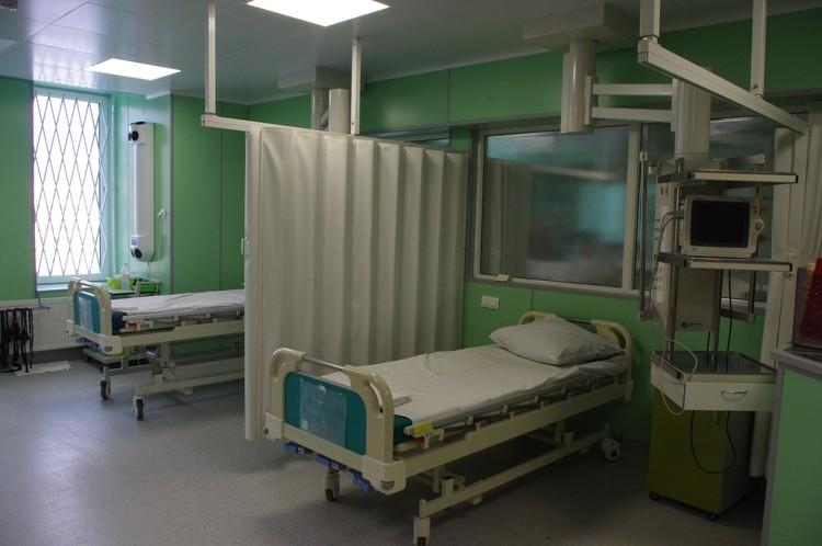 Реанимация больницы Святого Георгия Фото: предоставлено больницей