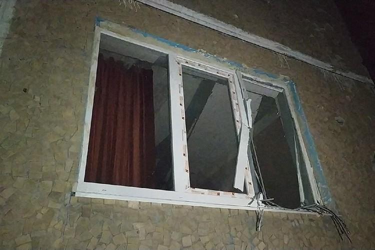 Последствия украинского обстрела