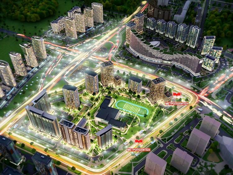 Развитая транспортная инфраструктура позволит легко добраться в любую точку города.