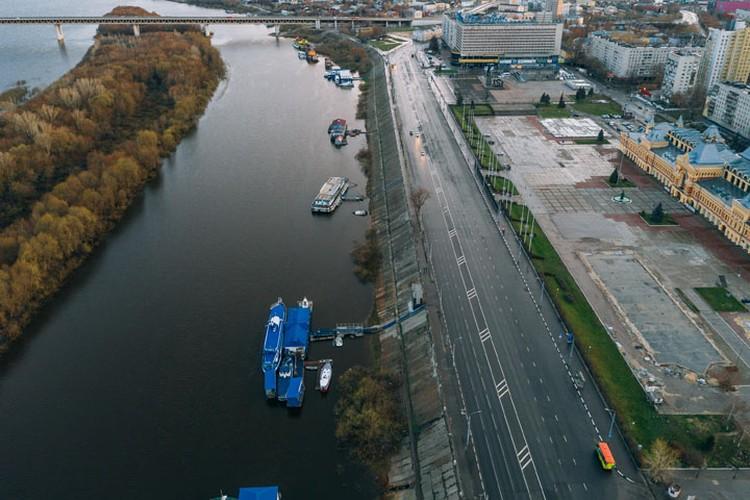 MEGABUDKA (Москва) разработает концепцию для Окской набережной