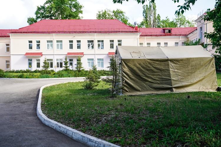 Инфекционный корпус был построен в 1935 году