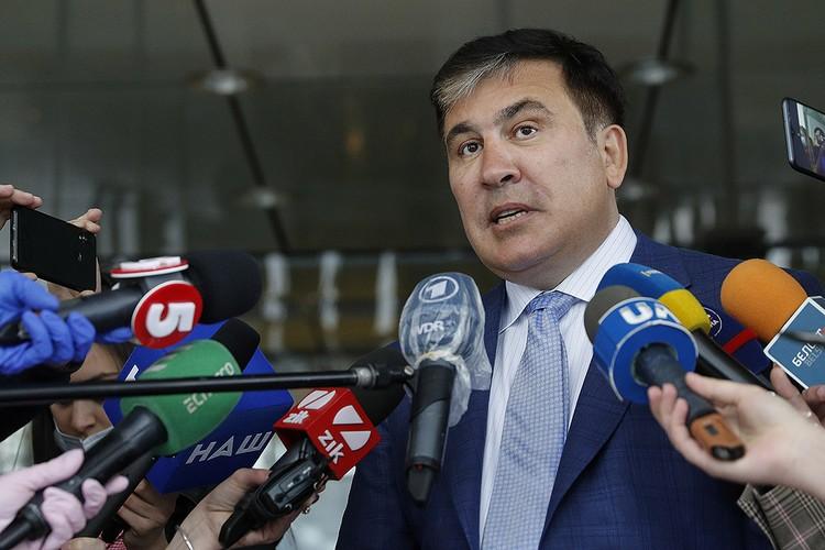 Михаил Саакашвили вернулся в украинскую политику в качестве главы Исполнительного комитета реформ.